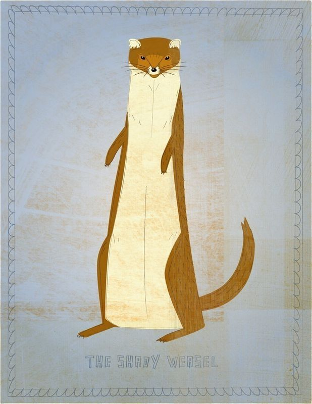 The Shady Weasel Print - product images  of