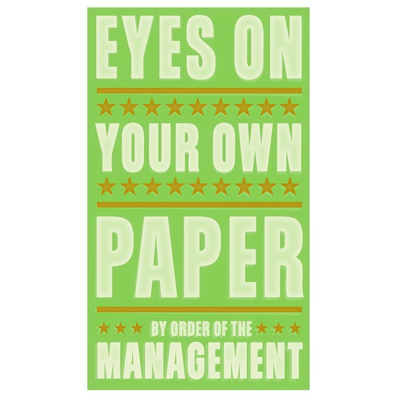 Eyes on Your Own Paper Print 6 in x 10 in - product images  of