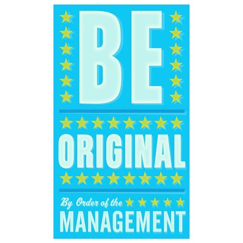 Be,Original,Print,6,in,x,10,Art,Illustration,digital,john_w_golden,sign,be_original,blue_art,paper,computer