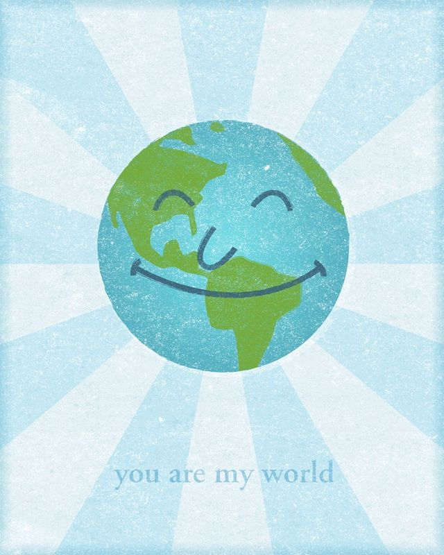 You Are My World Print - product images