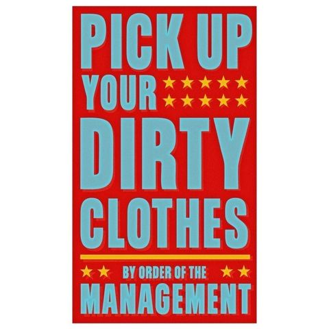 Pick,Up,Your,Dirty,Clothes,Print,Children,Toddler,art,illustration,print,digital,parental,john_w_golden,laundry,clothes,paper,computer