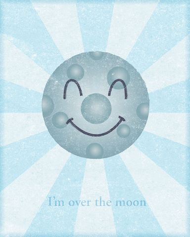 I'm,Over,the,Moon,Print,Art,Illustration,digital,john_w_golden,moon,happiness,paper,computer
