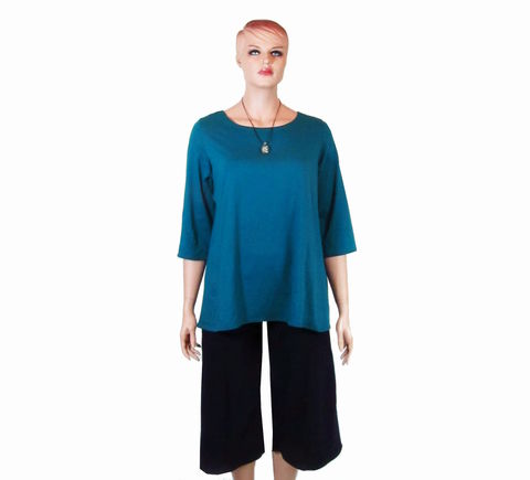 The,Kobieta,Scoop,Neck,Shirt,or,Tunic,bamboo jersey,scoop neck shirt,scoop neck tee,petite shirt,plus size shirt,plus size tee, plus size tunic, scoop neck tunic