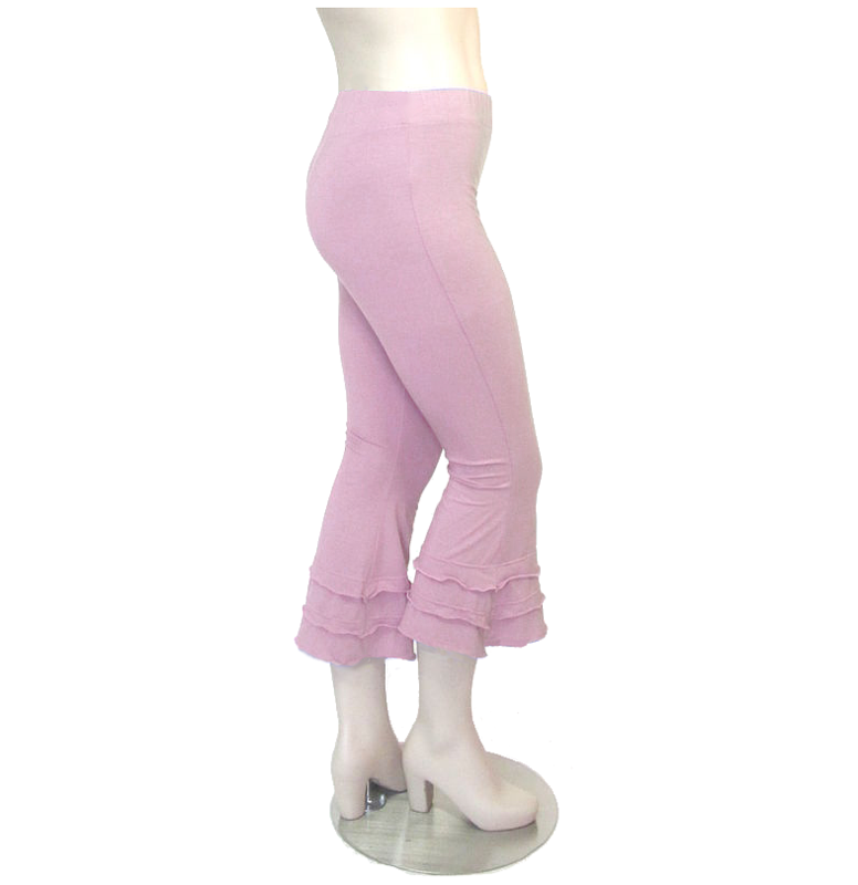 Women's Cropped Yoga Pants/Capris - Kobieta Clothing Company