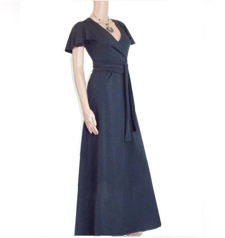 The Kobieta Wrap Maxi Dress