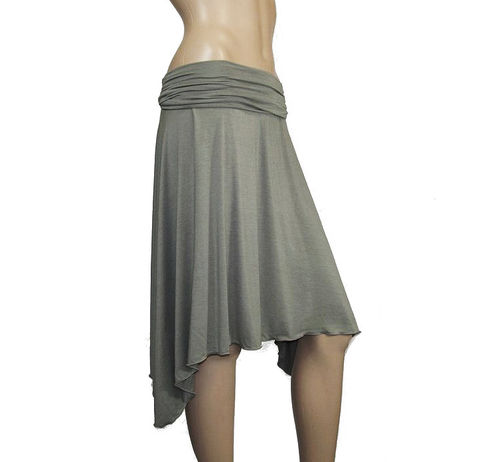 The,Kobieta,Jersey,Girl,Skirt,assymetrical skirt,womens jersey skirt,womens knit skirt,hi-low skirt, high-low skirt,yoga waisted skirt,bamboo skirt,kobieta,asymmetrical skirt,eco friendly,made to order skirt,petite skirt,custom skirt, made to measure,bamboo,viscose