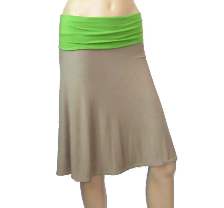 Bamboo Clothing Companies House: The Kobieta Jersey A-Line Skirt