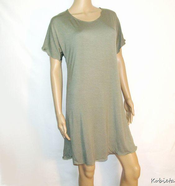 Womens bamboo or beechtree jersey sleep shirt sleep tee for Women s flannel sleep shirt