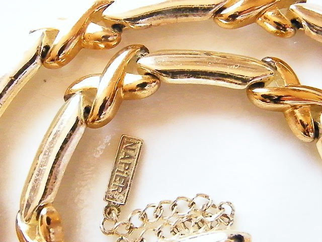 Vintage Napier glamorous crystal necklace
