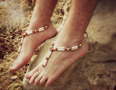Dirty,Hempie,Double,Hairpipe,Barefoot,Sandals,420-Colorado-hemp-barefoot-sandals, beach-ceremony, beach-wedding, men-beach-shoes, hemp-shoes, hemp-sandals, men-barefoot-sandals, barefoot-wedding