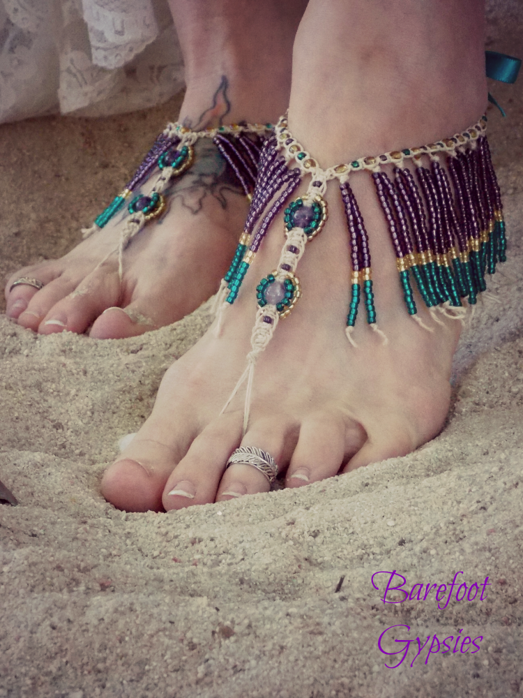 womens bohemian jewelry and accessories by barefoot gypsies