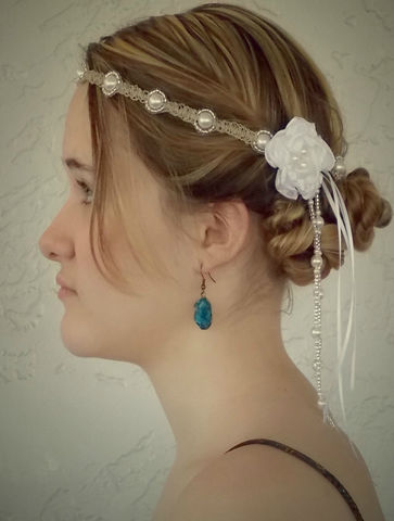 Beaded,Tassel,Hippie,Bride,Wedding,Headband,hippie-bridal-wear, hippie-bride, boho-chic, boho-bride, headband, bridal-headpiece, dreamy-headband, wedding-inspiration, wedding-hair-styles, do-it-yourself-wedding, non-traditional-veil, bohemian-wedding, tassel-headband, beaded-tassel, bridal-headpiec