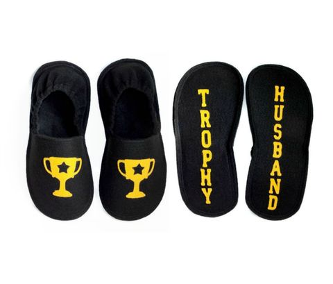 Trophy,Husband,Slippers,for,Men,men-slippers, trophy-husband, funny-valentine-gift-men, valentine-gift, warm-slippers-men, guy-slippers, handmade-house-shoes, house-shoes, trophy-shoes, men-shoes