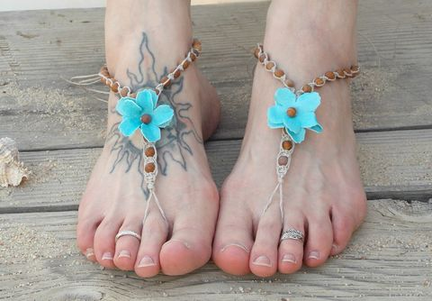Jasper,barefoot,sandals,with,flowers,hemp-barefoot-sandals, budget-barefoot-sandals, cheap-barefoot-sandals, handmade-barefoot-sandals, beach-wedding-sandals, flower-barefoot-sandals, barefoot-jewelry, toe-sandals, toe-thong, jasper-jewelry