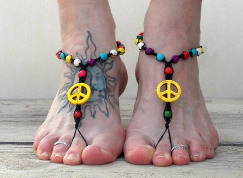 Mulit,Color,Peace,Barefoot,Sandals,with,black,hemp,multi-color-barefoot-sandals, colorful-barefoot-sandals, hemp-foot-jewelry, cheap-barefoot-sandals, peace-sign-barefoot-sandals, beach-sandals, toe-thong, yoga-shoes