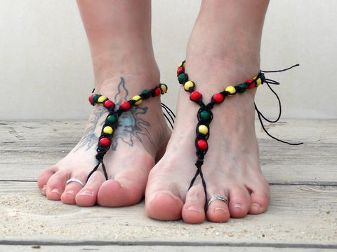 Black,Hemp,Rasta,Barefoot,Sandals,barefooter-sandals, barefoot-sandals, toe-sandals, beach-foot-jewelry, barefoot-movement, barefoot-men-shoes, men-barefoot-sandals, rasta-barefoot-jewelry, hemp-rasta-jewelry