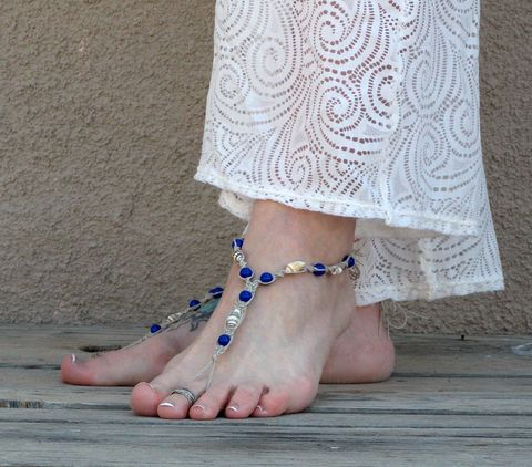 Blue,Seashell,Barefoot,Sandals,,Beach,foot,jewelry,beach-foot-jewelry, hemp-foot-jewelry, barefoot-sandals, blue-barefoot-sandals, seashell-barefoot-sandals, cheap-wedding-barefoot-sandals, beach-wedding-sandals