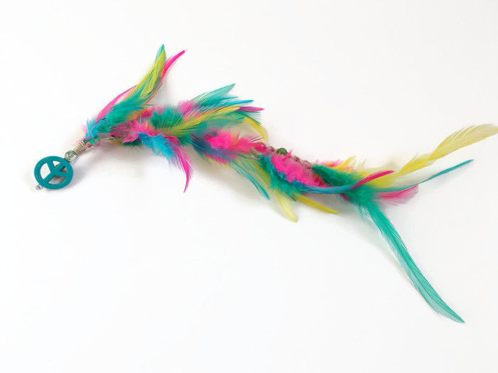 Peace Feather Hair Clip In Extensions