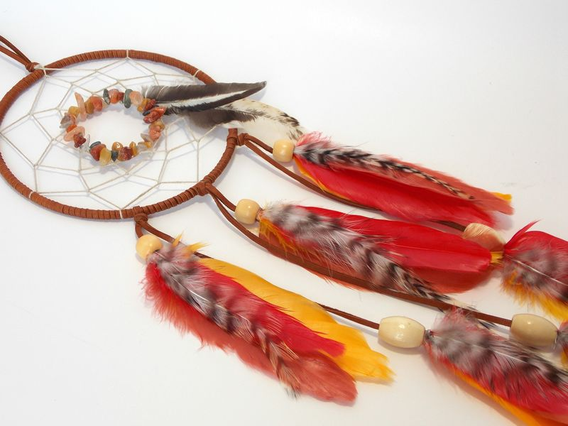 Fall harvest dream catcher bohemian home decor - product images  of