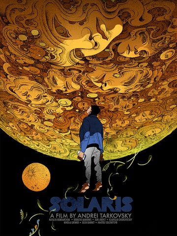 Solaris,solaris, movie, Andrei, Tarkovsky, 1979, trippy,Art House & International, Drama, Science Fiction & Fantasy, jim, carry, Kate, Winslet, KateWinslet, colorful, color details, beutiful, poster, movieposter, metallic, ink, details, bladerunner