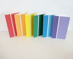 Rainbow,Recycled,Paint,Sample,Pocket,Notebooks,Ombre,Note,Books,paint chip notebook,Mini_journal,upcycled_paint_sample_book,paint_chip_sample,repurposed,ombre_notebook,ombre_note_book,rainbow_note_books,roygbiv,mini_jotter,Pocket_notebook,journal,paper,recycled,paint_chip,paint_sample