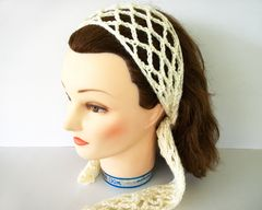 Lace,Crochet,Trellis,Hair,Scarf,All,Colors,Women's,Fashion,Accessories,women_accessories,womens_hair_accessories,crochet_hair_scarf,trellis_hair_scarf,handmade_crochet,Lace_hair_scarf,Handmade_crochet_scarf