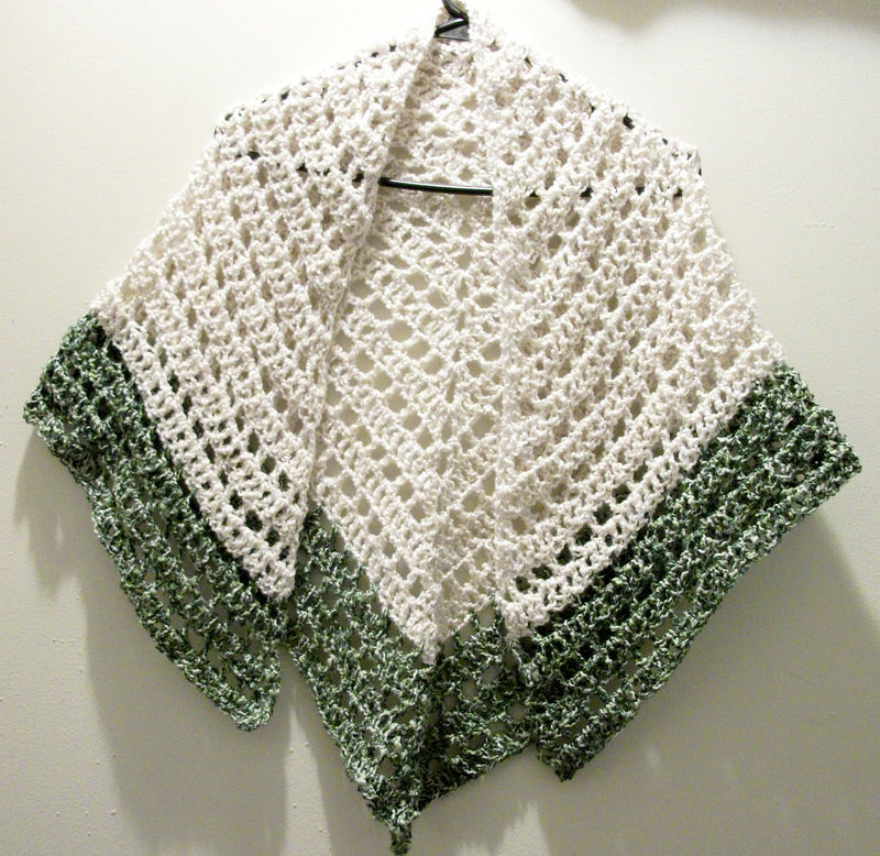 Crochet Triangle : Crochet Patterns Free Shawl Triangle Lace Crochet Shawl Triangle
