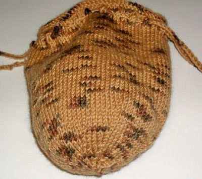 Knitting Pattern For A String Bag : KNITTING PATTERN FOR A DRAWSTRING BAG   KNITTING PATTERN