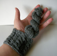Knitting,Kit,Complete,With,Hand,Dyed,Wool,Yarn,Knit,Cabled,Wrist,Warmer/,Wristband/,Cup,Cozy,supplies,handmade,kit,knit_pattern,cable_pattern,wrist_warmer_pattern,wristwarmer_pattern,bracelet_pattern,wristband_pattern,cup_cozy_pattern,knitting_pattern,worked_flat,worked_in_the_round,knitting_kit,wool_yarn
