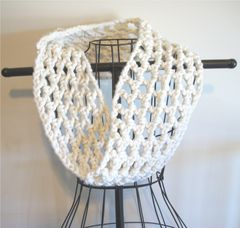 Crochet Chunky Cowl Openwork Style All Colors - product images 4 of 12