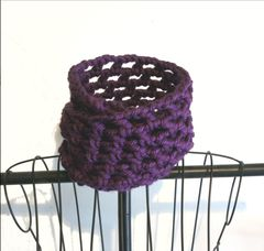 Crochet Chunky Cowl Openwork Style All Colors - product images 3 of 12