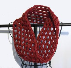 Crochet Chunky Cowl Openwork Style All Colors - product images 6 of 12