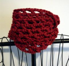 Crochet Chunky Cowl Openwork Style All Colors - product images 7 of 12