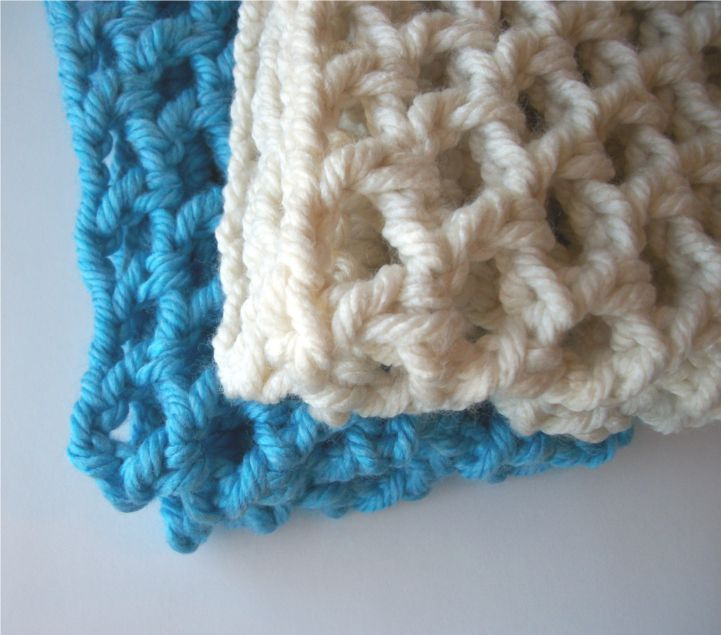 Crochet Chunky Cowl Openwork Style All Colors - product images  of
