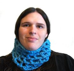 Crochet Chunky Cowl Openwork Style All Colors - product images 11 of 12