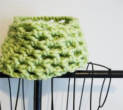 Crochet Chunky Cowl Openwork Style All Colors - product images 12 of 12
