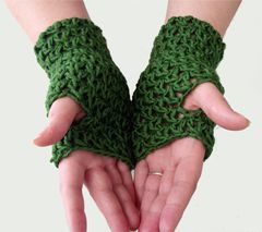 Bamboo,Wool,Fingerless,Gloves,Lipstick,Pink,,Ivory,,Dill,Green,,Or,Rust,Brown,fingerless gloves, lipstick, pink gloves, ivory gloves, , dill green, rust brown, handmade, lace gloves