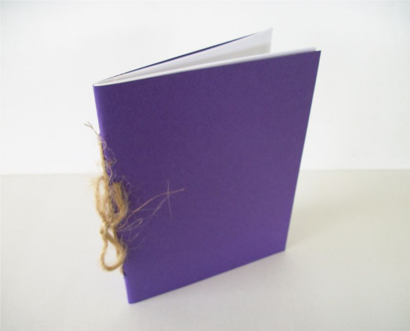 Hand Sewn Notebook Sketchbook Several Colors / Styles - product images  of