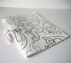 Hand Sewn Notebook Sketchbook Several Colors / Styles - product images 4 of 4