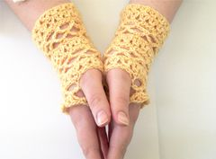 Crochet,Pattern,Lace,Fingerless,Glove,Mesh,Stripes,fingering weight yarn, fingerless gloves pattern, crochet fingerless gloves pattern, patterns for sale, stashbuster pattern, one skein pattern, quick project