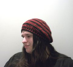 Beret Slouch Hat Crochet Pattern - product images 4 of 6