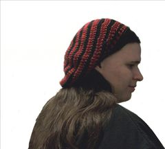 Beret Slouch Hat Crochet Pattern - product images 2 of 6