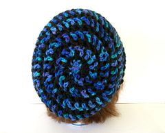 Net Stitch Mesh Camisole Crochet Pattern from Caron Yarn