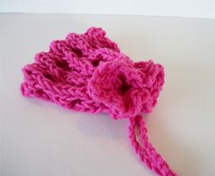 GoodKnit Kisses: FREE PATTERN Sachet Bag Pattern on the All-n-One
