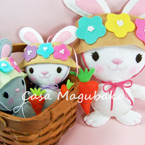 Bunny,Ornament,or,Soft,Toy,Tutorial,-,Digital,Sewing,Pattern,–,2,Sizes,PDF,File,Bunny digital tutorial, bunny sewing pattern, sewing digital pattern, bunny ornament tutorial, Easter pattern, Bunny templates, PDF File, sewing instructions, handstitched felt, Easter ornaments DIY, Easter soft toy, stuffed bunny DIY