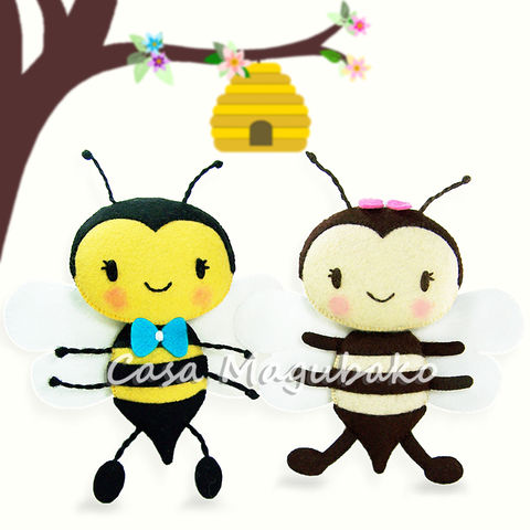 Felt,Bee,Digital,Pattern,–,PDF,File,bee ornament digital tutorial, bee sewing pattern, sewing digital pattern, bee tutorial, felt bee pattern, bee templates, PDF File, sewing instructions, hand-stitched felt, spring ornaments DIY, stitched bee, abeja en fieltro, abelhinhas de feltro