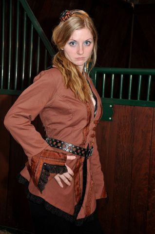 Favorite,Steampunk,Jacket,Steampunk jacket, steampunk, ladies steampunk, skirted jacket