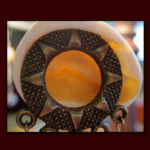 Ornamental Eye Catcher Sun Moon and Stars