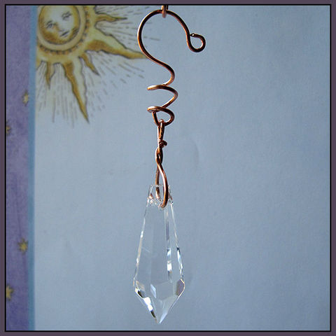Icicle,Chandelier,Prism,and,Copper,Wire,Eye,Catcher,prism,eye catcher, icicle chandelier
