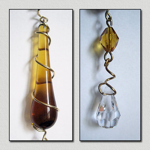 Amber,Raindrop,Crystal,Cut,Prism,Eye,Catcher,raindrop crystal, prism, amber, sun catcher, ornament, jewelry for the home